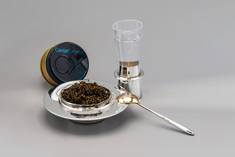 Caviar Vodka Set Gift Box with Ossetra Vodka