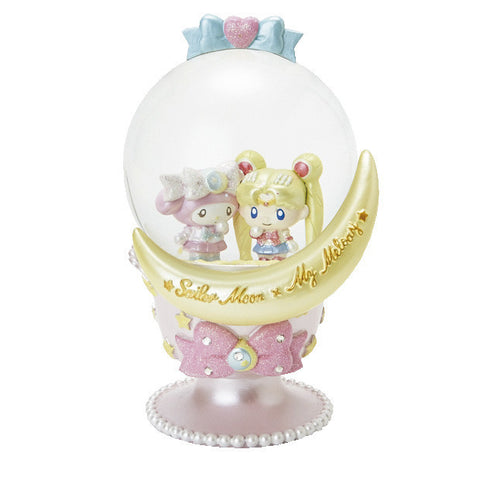 Sailor Moon x My Melody Collab- Glitter Snow Globe