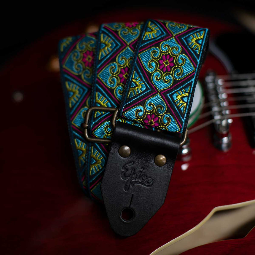 Epivo Blue Ace Guitar Strap