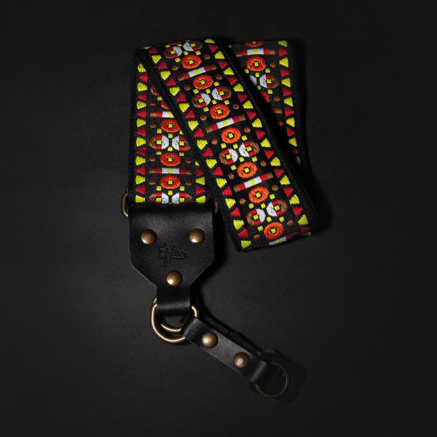 Epivo Black Aztec Retro Camera Strap