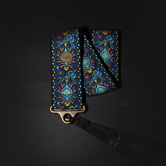 Epivo Blue Peafowl Retro Camera Strap