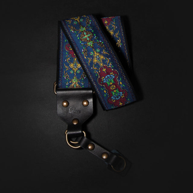 Epivo Blue Totem Retro Camera Strap