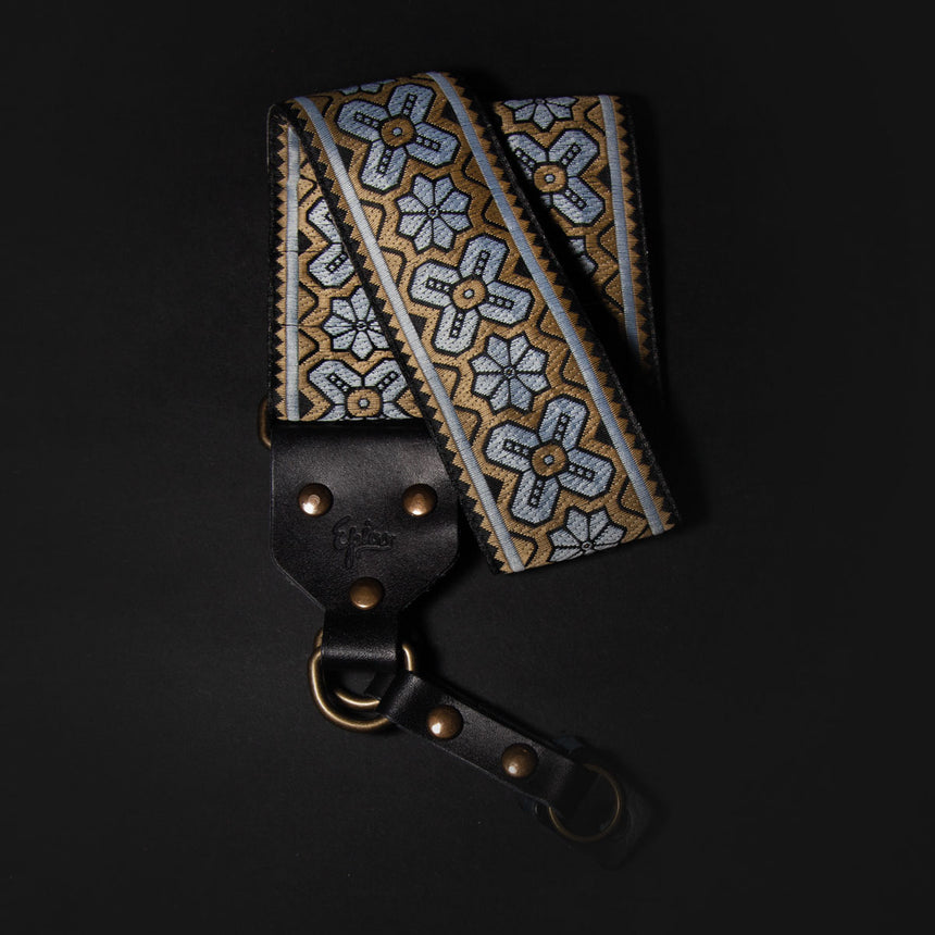 Epivo Golden Flowers Retro Camera Strap