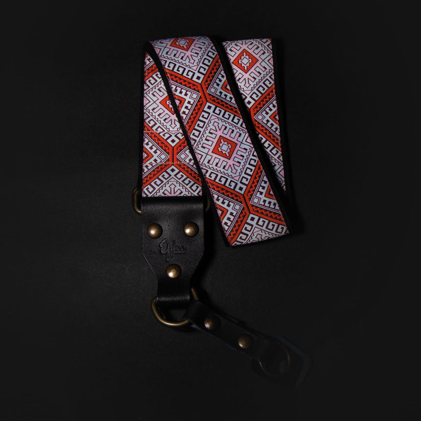 Epivo Orange Ethno Retro Camera Strap