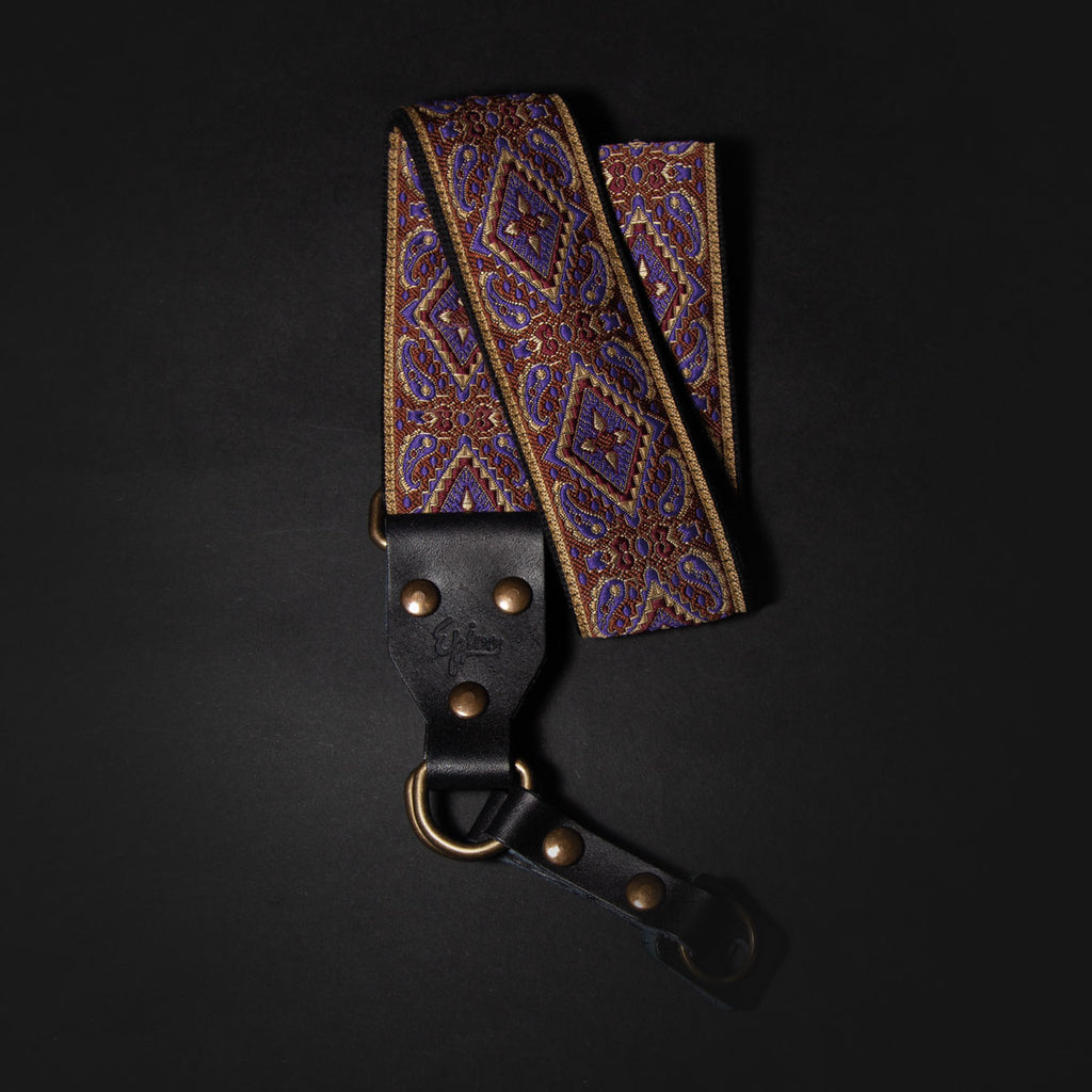 Epivo Purple Rain Retro Camera Strap
