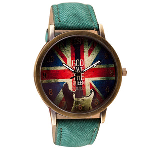 Montre God Save The Queen Brit-Rock