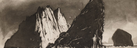 Drawn 2017 Invited Artist Norman Ackroyd