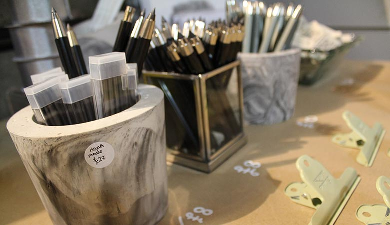 Art supplies at RWA's Gift Shop