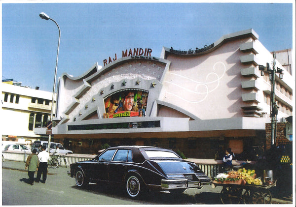 085, Richard Cox, Raj Mandir, Jaipr with Cadillac Seville, Digital print 140x190mm