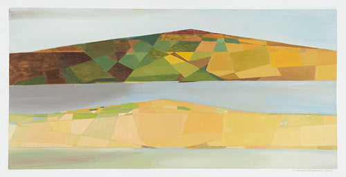 Wilhelmina Barns-Graham, Two Island Series (No. 2) (Orkney), 1987