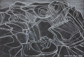 Wilhelmina Barns-Graham, Lava Forms Lanzarote 2, 1993