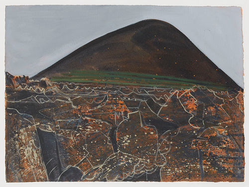 Wilhelmina Barns-Graham, La Geria, Lanzarote No. 3, 1989