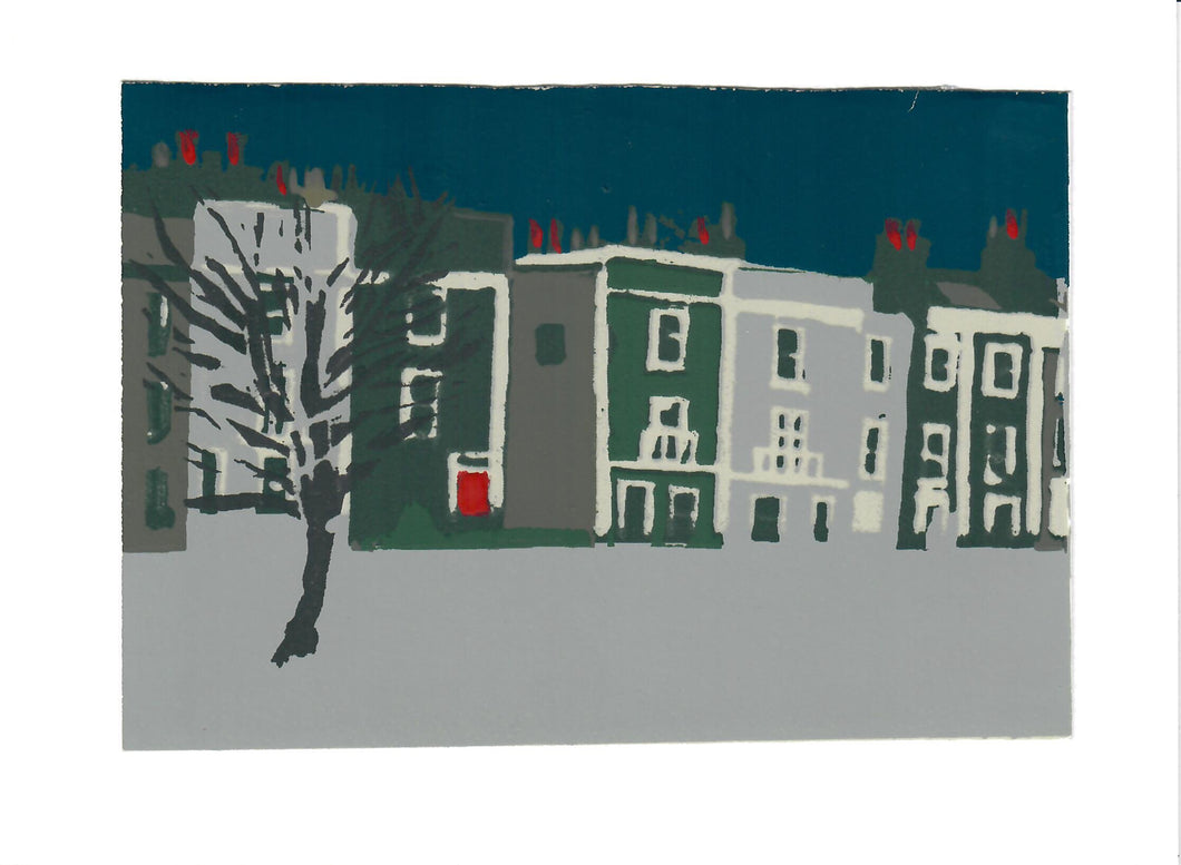 220, Dawn Sidoli NEAC RWA, Bedminster, Bristol, Screenprint 140x190mm