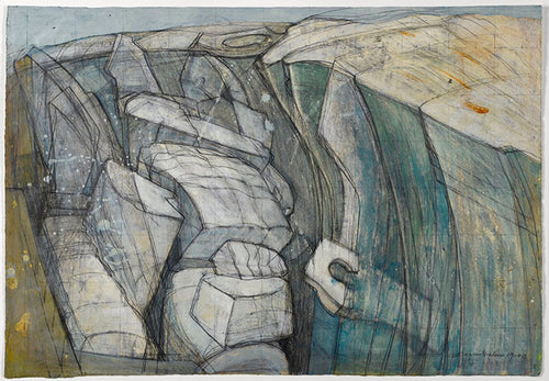 Wilhelmina Barns-Graham, Glacier Study, 1949