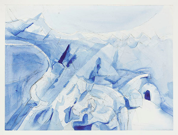 Wilhelmina Barns-Graham, Glacier Study, 1978