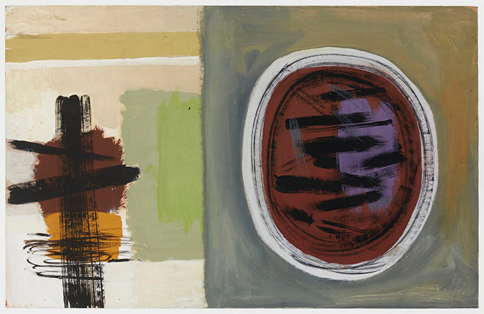 Wilhelmina Barns-Graham, Spanish Island Series (Under and Over, 1960