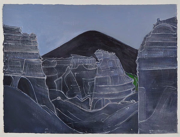Wilhelmina Barns-Graham, Quarry Nr Teseguite, Lanzarote, 1989