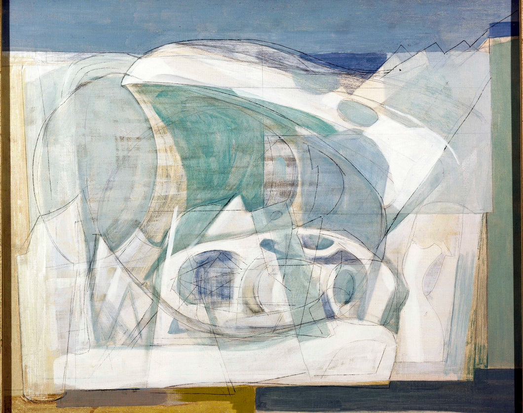 Wilhelmina Barns-Graham, Upper Glacier, 1950