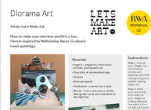 Junior Drawing School: Diorama Online Workshop