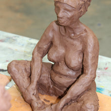 Drawing with Clay: Yoga Sculpture
