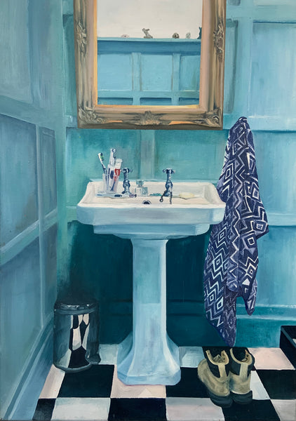 Family Bathroom, Zelda Coleborn