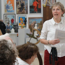 Described Gallery Tour for Visually Impaired Adults