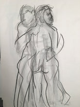 Paired Life Drawing