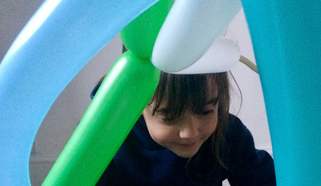 Collaborative Sculpture - Balloon Modelling with Let's Make Art - FREE with exhibition entry