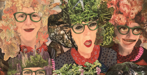 Self-Portrait Collage