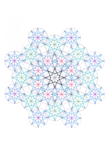 NEW! Drawing Sacred Geometry Patterns
