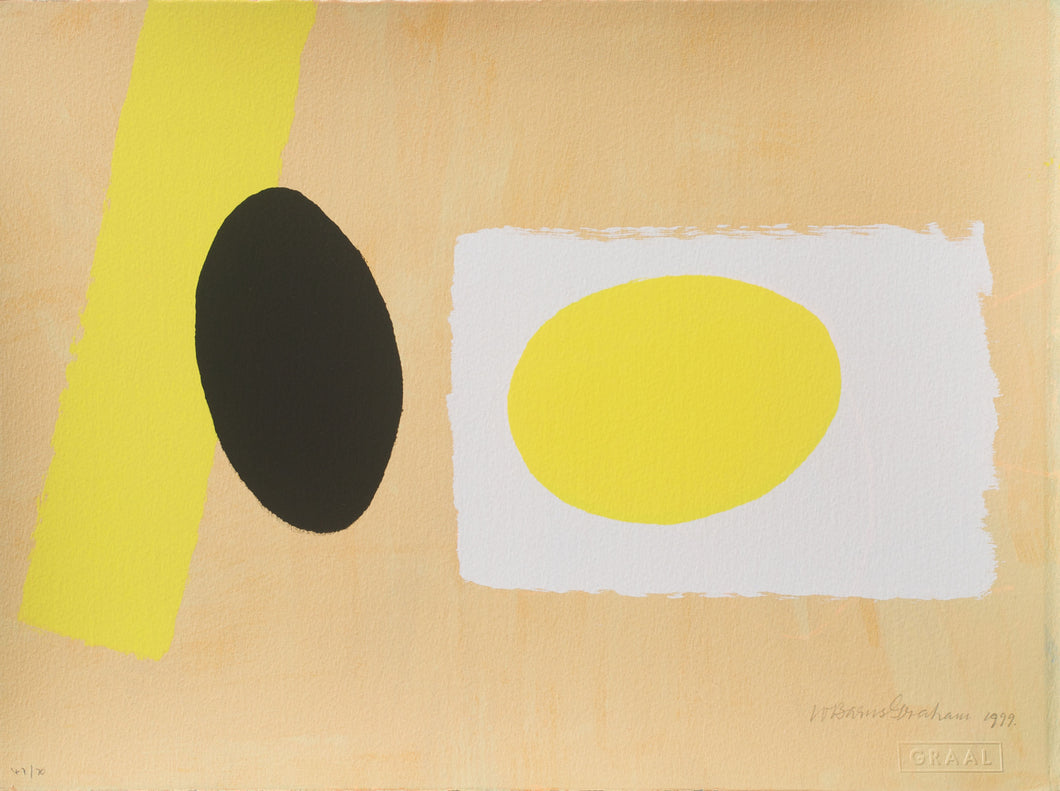 Orange & Yellow Playing Games II, Wilhelmina Barns-Graham