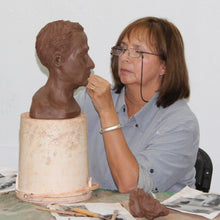 Drawing with Clay: Portrait Sculpture