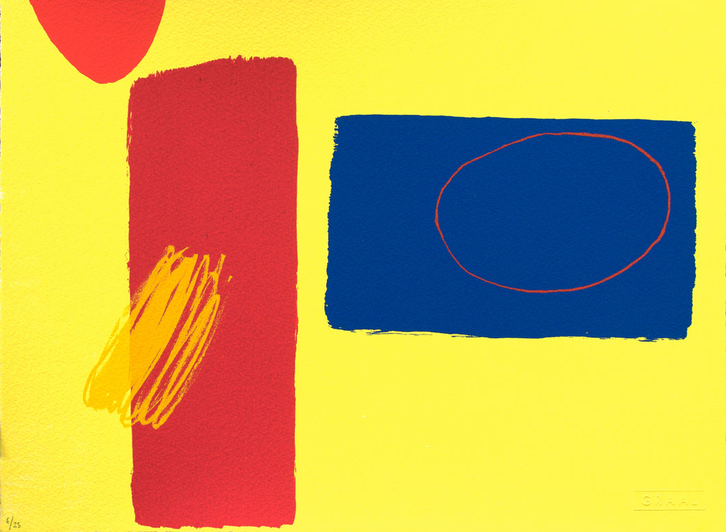 Red Playing Games IV, Wilhelmina Barns-Graham