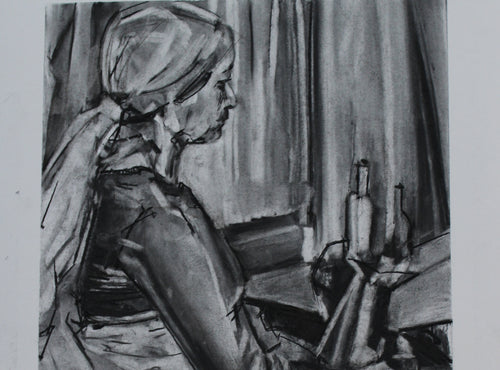 Reflecting the Interior: Life Drawing into Painting