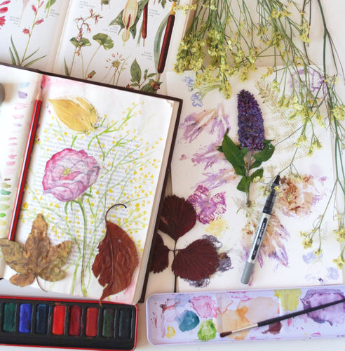 Make Your Own Mindful Nature Journal: Art Workshop for Students