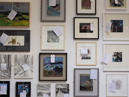 Friends' 2D Exhibition 2020, Tetbury Goods Shed