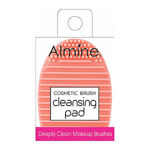 Cosmetic Brush Cleansing Pad - Egg Shaped, Cosmetic Brush Cleansing Pad, Almine, Irresistible Cosmetics