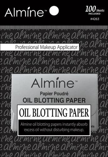 Oil Blotting Paper - 100 Sheets, Blotting Paper, Almine, Irresistible Cosmetics