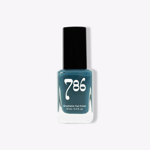 786 Halaal Breathable Nail Polish - Chefchaouen