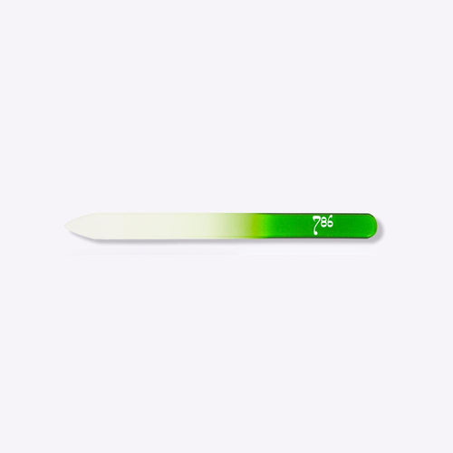 786 Crystal Nail File - Green