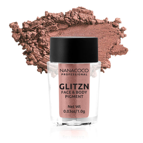 Glitzn Face and Body Pigment - Orange Gold, Face and Body Pigment, Nanacoco PRO, Irresistible Cosmetics