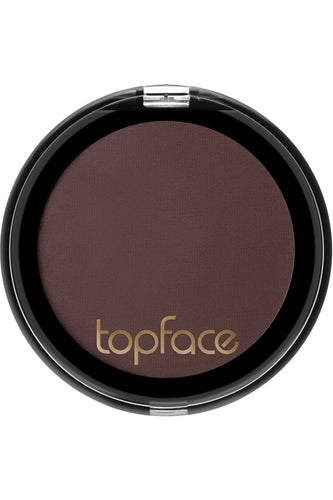 Topface - Instyle Matte Mono Eyeshadow - 106 - Burnt Brown