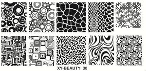 Stamping Plate - 30 - Irresistible Cosmetics