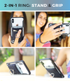 The StickyWallet Ring – Stick On Phone Wallet w/ Kickstand Ring