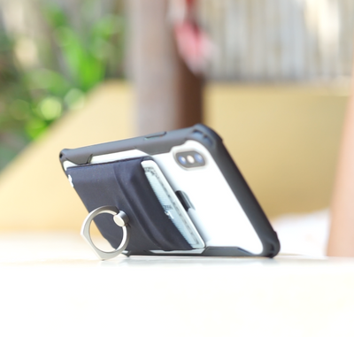 The StickyWallet +Ring