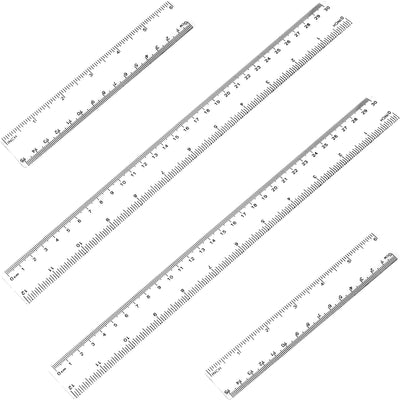 Stright Ruler - 12 inches & 6 inches