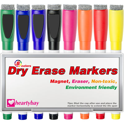 Dry Erase Markers with Magnet and Eraser