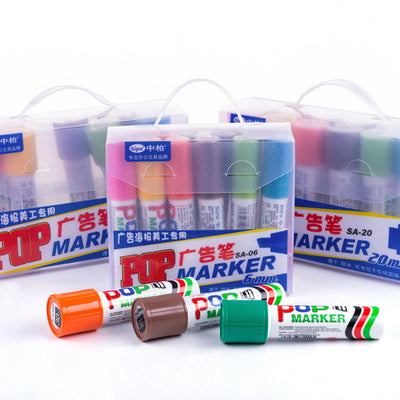 POP Marker Pen - 12 colors