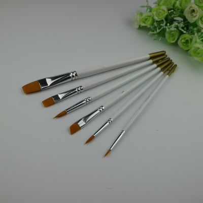 6 pieces-Nylon Brushes Set