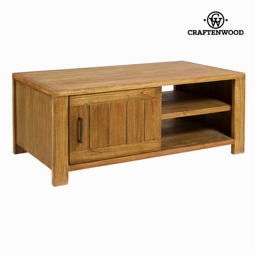 Banc TV Bois mindi (110 x 60 x 45 cm) - Square Collection by Craftenwood